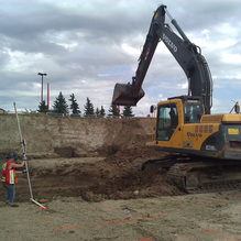 Construction | Transit Technical Services Excavator